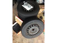 "Mercedes Vito 16"" wheels and tyres ( Vw Transporter T4)"