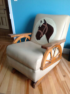 BERCEUSES VINTAGE RETRO1965 COUNTRY ROCKING CHAIRS