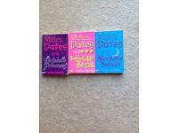 Set of 3 girls reading books