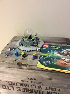 Lego Alien Conquest UFO Abduction