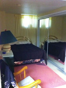 One Bedroom Fully Furnished Basement Apartment