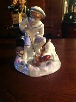 ROYAL DOULTON FIGURINE. CAUGHT ONE  CH9