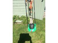 HOMEBASE POWERBASE Electric Hover Lawnmower