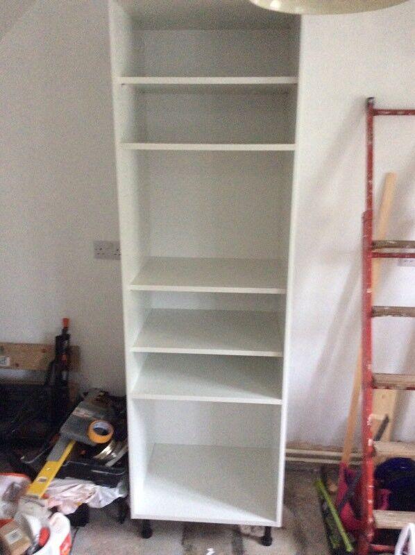 White Larder or Oven Housing Unit