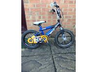 Kids action man atom bike £10 ono