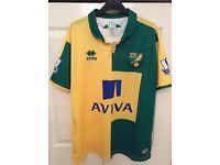 Norwich City shirt 2015/16 NCFC