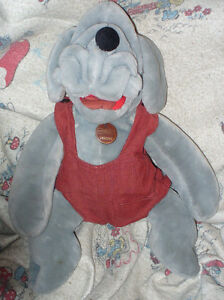 Wrinkles Dog's.3.Plush Hand Puppet 18 Heritage collection 1981.