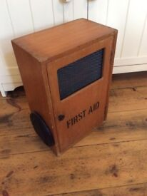 Upcycled vintage first aid box Bluetooth speaker