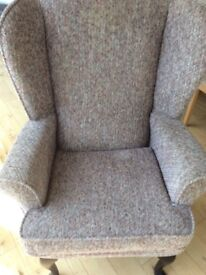 Chair - very comfortable, neutral beige colour and in Excellent Condition
