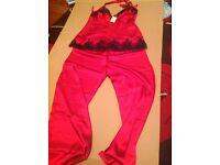 Brand new silky pyjamas size 12