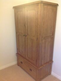Solid wood wardrobe in great condition