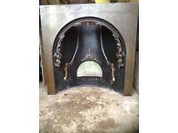 Modern cast iron fireplace