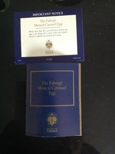 Faberge Carousel Egg Kitchener / Waterloo Kitchener Area image 3