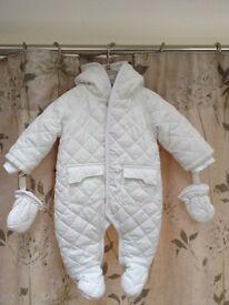 Mamas & Papas Unisex Snowsuit 0-3 months