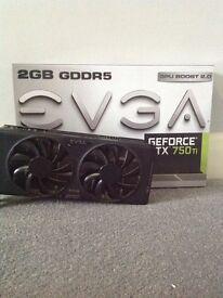 EVGA GTX 750Ti FTW edition 2GB