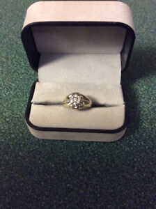14kt. WG  Men's Diamond Ring