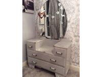 *Dressing Table & Mirror* shabby chic