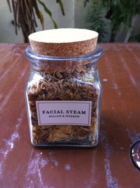 New and unopened. Mullein and Sparrow New York Facial Steam.