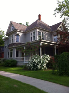 Queen Ann Century Home in the  Historic area of Fredericton