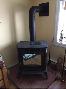 Harman XXV top of the line pellet stove used less than 10 times