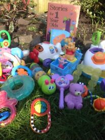 All my daughters toys 0-2 BARGAIN
