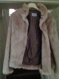 Beautiful soft fake fur jacket