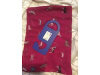 Beautiful Joules hand drawn long line Wensley women's scarf