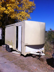 20 ft enclosed cargo trailer, sell or trade or part trade