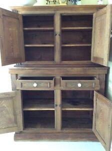 Antiquité - Armoire en bois massif / Antique - Wodden Cabinet Gatineau Ottawa / Gatineau Area image 4