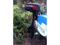 Outboard Motor - Tohatsu 3.5