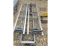 Easi- lift double roof rack and pipe holder box