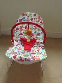 Mamas and papas little land vibrating bouncer