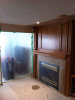 Woodwork Restoration and Cabinet Refinishing