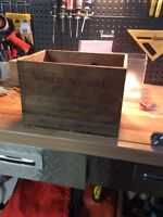 Bakers Chocolate wooden box , dovetail,original Moncton New Brunswick Preview