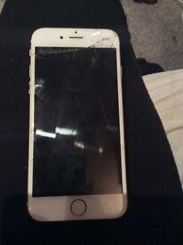 IPhone 6 16gb unlocked gold