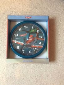 Disney Planes Kids Wall Clock