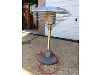 Small garden patio heater