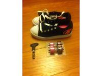 Brand New Black Heelys Size 5 - no box