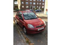TOYOTA YARIS Spares or repairs