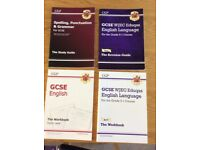 GCSE English language 9-1 course revision aids all in great condition