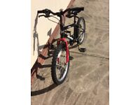 Boys mountain bike. Wheel size 20 inch
