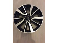 "Set of 4 19"" Nissan Qashqai Tekna Diamond Cut Alloy Wheel S367s"