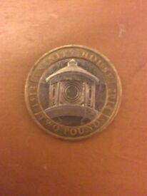 Rare trinity house £2 coin