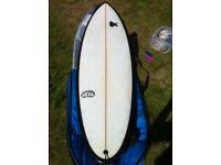 Forth chilibean 6'9 Surfboard chilli bean board great condition.