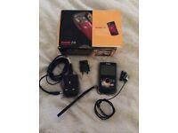 Kodak Zi8 1080p pocket video camera and Sony ECMCS10.CE7 Clip on microphone