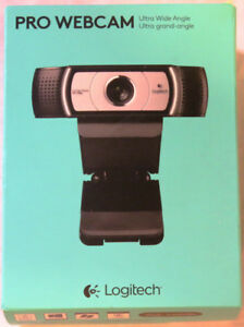 Logitech Pro Webcam 960-001070 Brand New Sealed