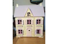 Dolls house and puppet theatre