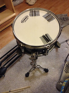 """pearl firecracker 10"""" snare drum with stand"""