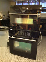 JennAir  double wall ovens with warming drawer