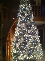 12ft pre lite Christmas tree